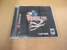 Resident Evil 2 (Sega Dreamcast, 2000) Complete