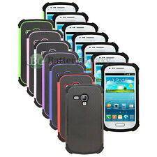 CLEARANCE Lot of 7 Hybrid Rubber Case for Phone Samsung Galaxy S3 Mini 50+SOLD