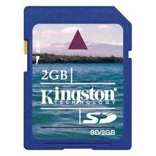 Kingston 2GB SD 2G 2 G Secure Digital Flash Memory Card fits Nintendo, Wii bulk