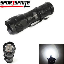 Hugsby P2 CREE Q5 LED 3 Mode 700 Lumens 3.7V-4.2V 1xCR123A Tactical Flashlight