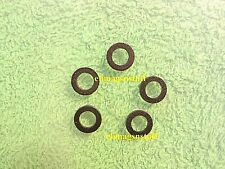 Lot of 5 Black Synthetic Spacer Washers for Sling Swivel Mounting Stud Screws
