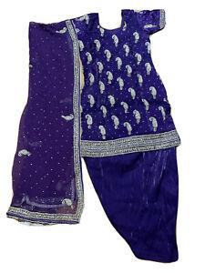 Salwar Kameez Punjabi Suit Party Wear Shalwar Dress - New