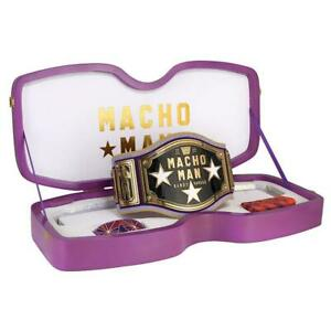 Official WWE Authentic Macho Man Randy Savage Legacy Championship Collector's