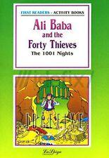 ALI BABA & THE 40 THIEVES LIBRO PER IMPARARE L'INGLESE > COLLANA FIRST READERS