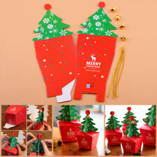 5 Christmas Tree Packing Box Cupcake Cookies Candy Gift Apple Box Wedding Favour