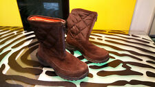 Lands End Winter Boots Good Condition Brown Womens Size 8.5