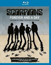 SCORPIONS - FOREVER AND A DAY (DOC.&LIVE IN MUNICH) EAGLE VISION 2 BLU-RAY NEU