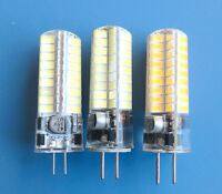 G4/G5.3/GY6.35(GX6.35) 5W LED bulb 72 5730 SMD RV/Boat Light DC12~24V Silicone