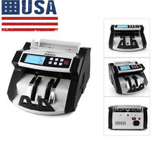 Aibecy Money Bill Counter Professional UV Currency Cash Counting Machine F7F3