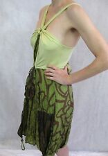 Save The Queen Size M or 10 Green Italian Sun Dress
