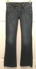 HUDSON Signature Flap Pocket Weiss Wash Bootcut Jeans Size 26