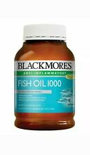 NEW Blackmores Healthy Nutritional Omega-3 Source Fish Oil 400 Capsules 1000g