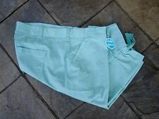 SKIMMERS/Relaxed Fit/ Mostly COTTON~by Lee~Size 24W~SR $50~Mint Julep Lite Green