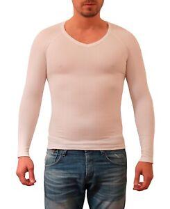 Sodacoda Men Body Slimming Tummy Shaper - Elastic Sculpting Compression Shirt