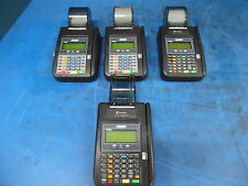 LOT OF 4 HYPERCOM MODEL: T7PLUS CREDIT CARD MACHINES / READERS *AS IS*
