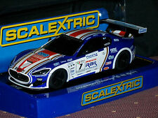1/32 SLOT CAR  SCALEXTRIC MASERATI TROFEO C3380 2012 OMD PIRELLI BLACK WINDOW