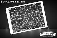 Struktur Effekt Dirty Ground Airbrush Schablone Stencil