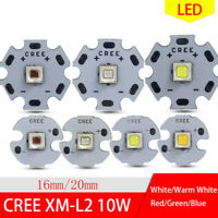 Cree XML2 10W HighPower LED Emitter High Power Leds 16mm 20mm Multi-Light-Farbe