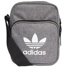Bolso Adidas mini Bag D98927 gris casual originales bolsa de deporte