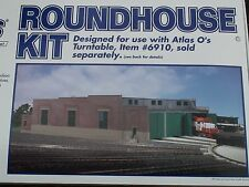 O-SCALE ATLAS #6904 ROUNDHOUSE KIT (STRUCTURE) BIGDISCOUNTTRAINS