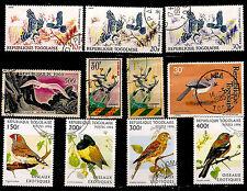 Rep.TOGO Oiseaux-Birds exotiques,sédentaires,rapaces 1m450
