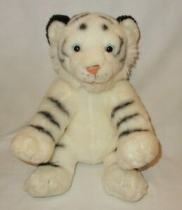 Build A Bear White Siberian Tiger Las Vegas Exclusive Stuffed Plush Animal