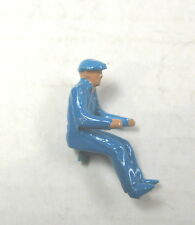 Dinky Toy 408, etc. Late Version Blue Tractor Driver,  Painted & Plastic
