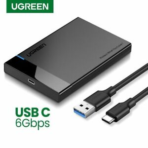 UGREEN HDD Cas 2.5 SATA to USB 3.0  Adapter Hard Drive Enclosure for SSD Disk HD