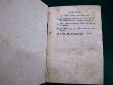 LIBRO ANTICO COMPONIMENTI TRAGICOMICI E DRAMMATICI AA.VV. ANNO 1830