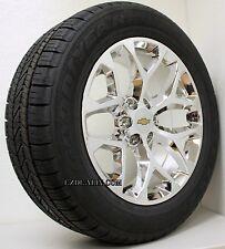 New 20 inch Chevrolet Silverado Suburban Snowflake Chrome Wheels Rims Tire
