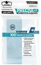 Ultimate Guard 100 pochettes Precise-Fit Sleeves cartes format japonais 001236