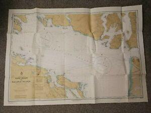MAP/ SEA CHART-CANADA, BRITISH COLUMBIA- SAND HEADS TO BALLENAS ISLANDS-1937/79