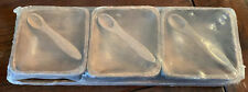 Vintage Handcrafted Wooden Tray/Platter 3 Sectional Dishes. Made In Philippines