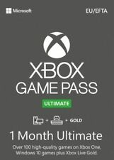 Xbox Game Pass Ultimate + Live Gold - 1 Month - Instant Dispatch - No Expiry