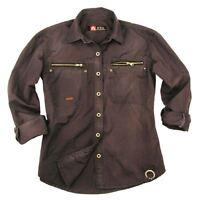 Outdoor | Worker Shirt | Herrenhemd Shofield mit  Reißverschluss- Taschen