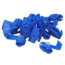 50 X BLUE SCOTCHLOCKS SPLICE TERMINALS SCOTLOCKS WIRE CABLE CONNECTOR