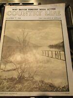 Vintage December 1958 Country Life Magazine Prop / Adverts / Collectors