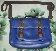 Ted Baker Casual Blue Satchel Laptop Bag