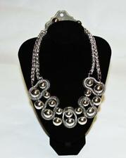 Chains Fashion Costume Jewelry Jxd New Necklace Earrings Set Silver Tone Beads &