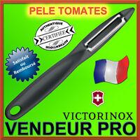 COUTEAU EPLUCHEUR VICTORINOX PELE TOMATES LEGUMES FRUITS... NEUF / PRO FRANCAIS