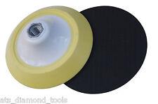 "125mm (5"") Medium Density Velcro Backing Backer Pad M14-2 thread"