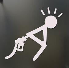 gas prices Sticker Funny bent over fuel petrol Drift JDM Truck Car window Bumper