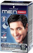 Schwarzkopf Men Perfect - For Men - Gentle Hair Color Gel - Nature Black 90