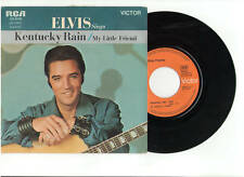 ELVIS PRESLEY KENTUCKY RAIN 45RPM RECORD PICTURE SLEEVE OUT OF PRINT FRANCE RARE