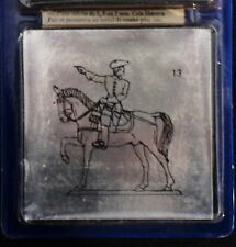 Prince August Tin Toy lead Soldier mounted on horse  number 13 in the series