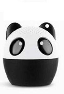 """Panda 3W Bluetooth Speaker Animal Desktop Player Stereo Loudspeaker 2 x 2"""" V 4.1"""