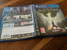 REPLACEMENT CASE For Dragonage Inquisition NO GAME on Sony PS4 VGC Dragon Age