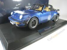 PORSCHE 911 TURBO TARGA 3.3 1987 1/18 NOREV (BLUE)