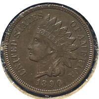 1890 1C Indian Cent (60395)