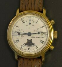 Vintage Chronoswiss Moonphase Manual wind Chronograph in perfect condition